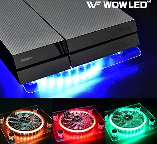 separation shoes c2091 3f447 WOWLED Cooling Fan Mini 3 keys Control Gaming USB RGB LED ...