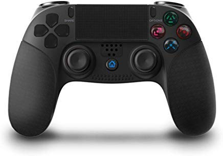 Wireless PS4 Controller, KINGEAR Wireless Charger Gamepad