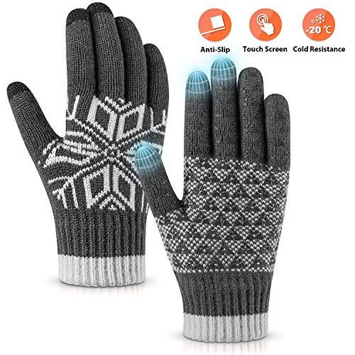 Womens Winter Touch Screen Gloves KAKAO FRIENDS Official